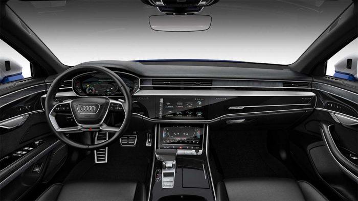 Панель управления Audi S8