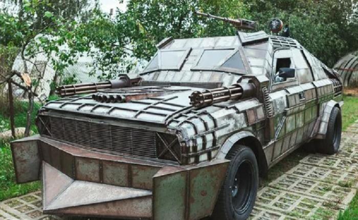 ГАЗ-24 «Волга» в стиле Безумного Макса