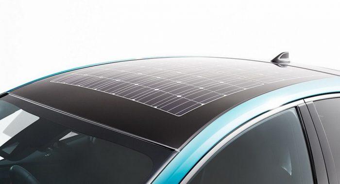 Toyota Prius на солнечных батареях