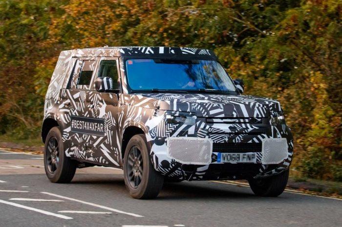 Land Rover Defender нового поколения
