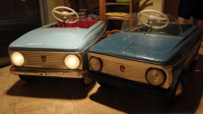 Педальный автомобиль времён СССР