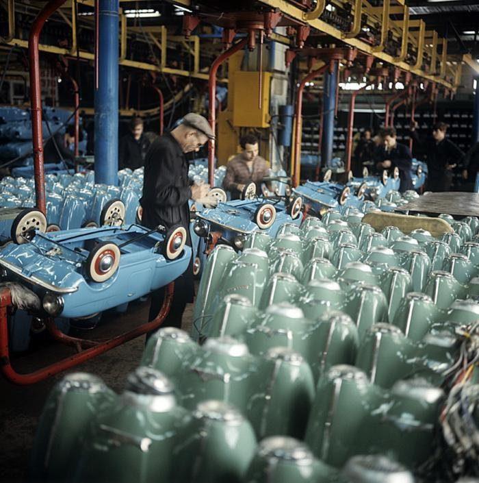 Производство детского педального автомобиля