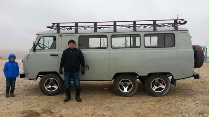 Монгольский УАЗик