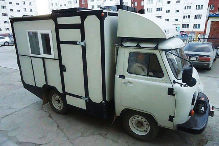 Кемпер из УАЗ