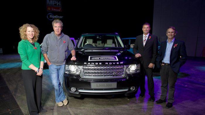 Миллионный Range Rover