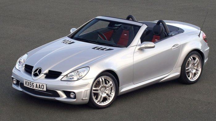Mercedes-Benz — SLK55 AMG