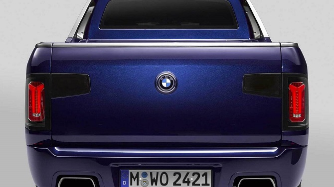 BMW X7 пикап