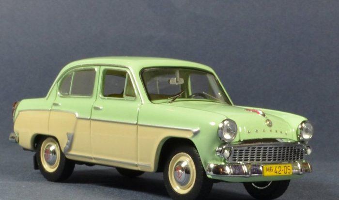 москвич-407 легковой автомобиль