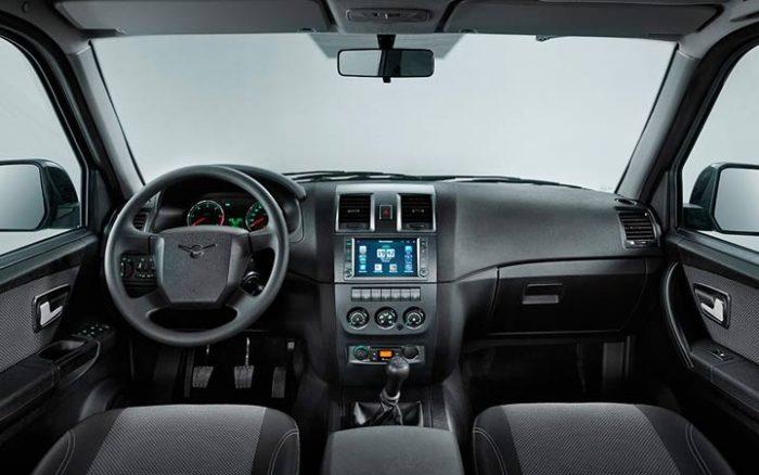 Руль и панель управления УАЗ Патриот