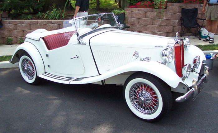 MG TD 1952 года выпуска