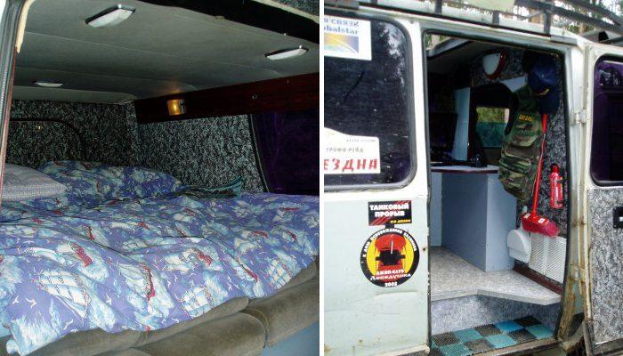 УАЗ-452 «Буханка» автодом