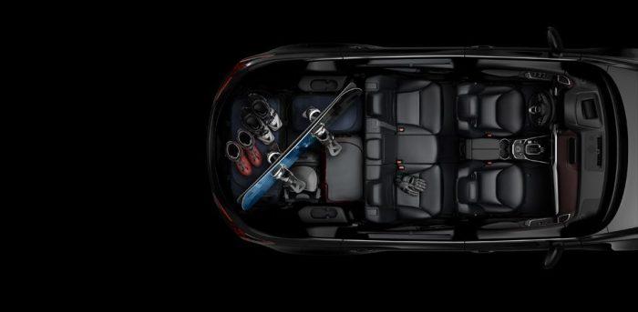 Салон Mazda CX-9 2019