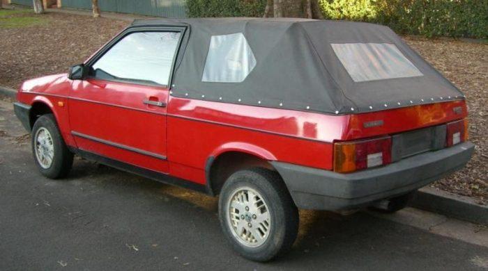 Кабриолет ВАЗ-2108