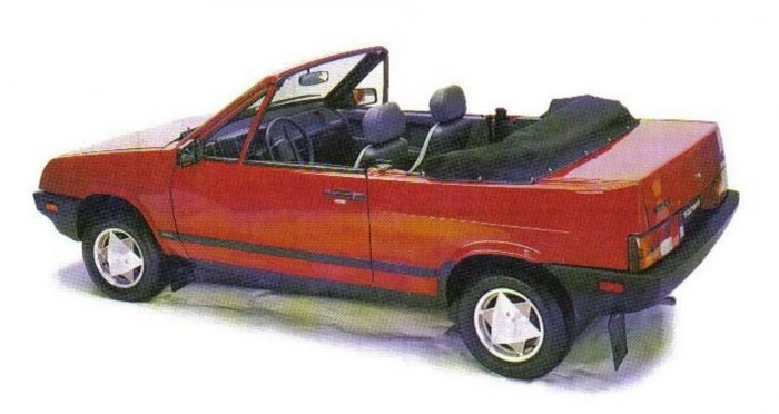 Канадский кабриолет на базе ВАЗ-2108