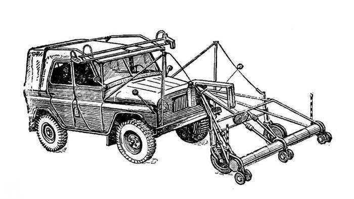 Схема УАЗ-469
