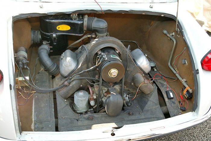 Двигатель Mazda R360