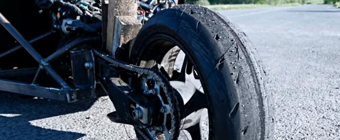 Трицикл на основе ВАЗ-2101