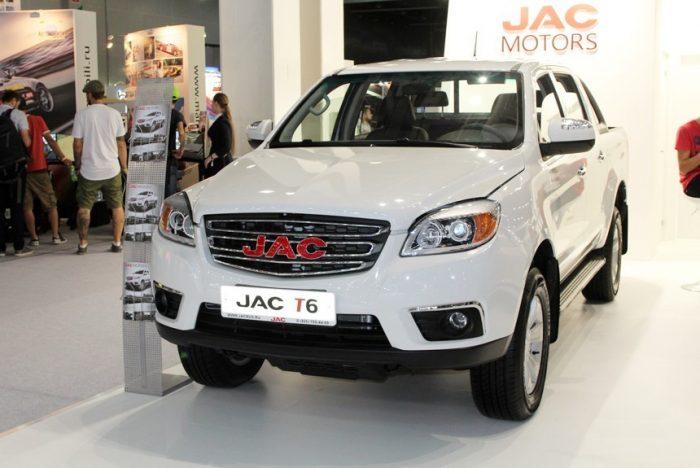 Салон JAC Т6