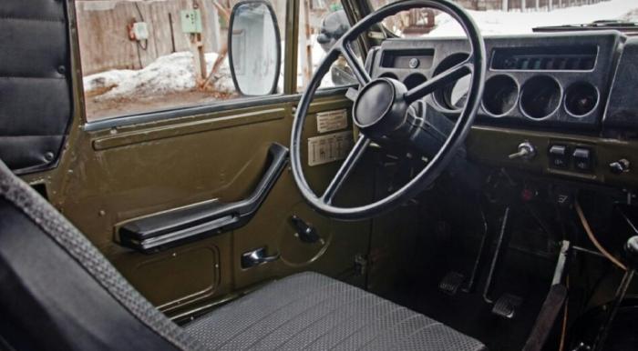 Руль УАЗ 3907 «Ягуар»
