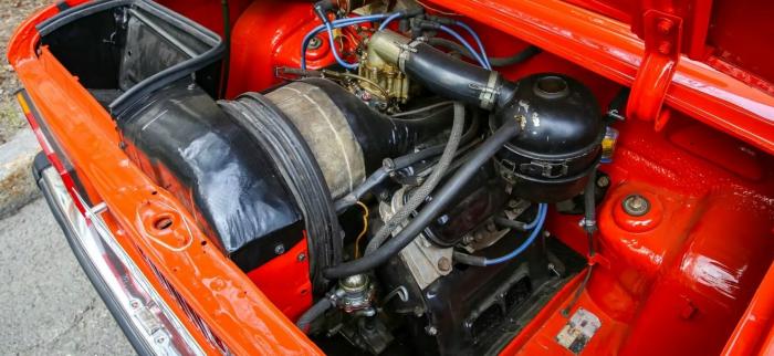 Двигатель ЗАЗ-968МП