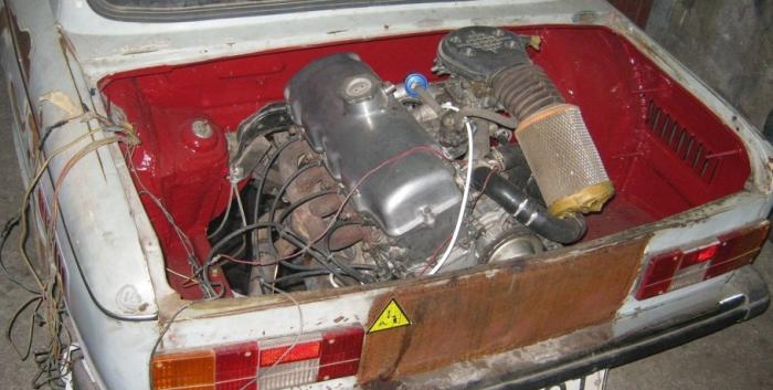 Двигатель ЗАЗ-968А