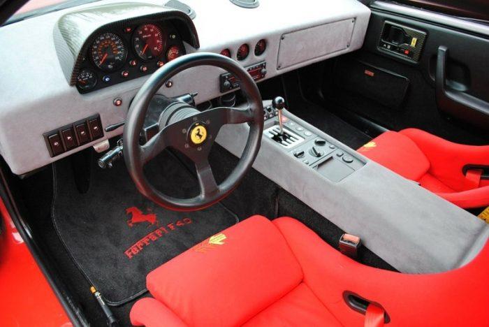 Салон Ferrari F40