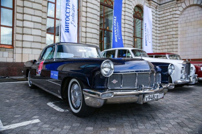 Lincoln Continental Mark 1956 года выпуска