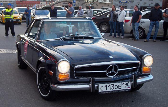 Mercedes-Benz 250 SL Pagoda 1970 года выпуска