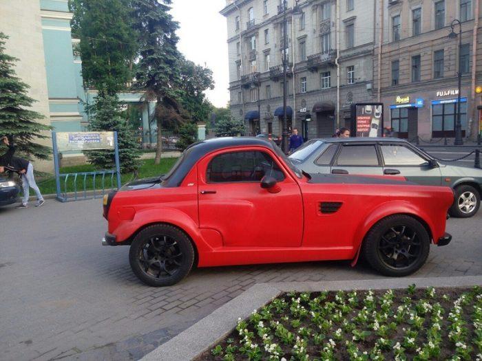 Переделанный Москвич-407
