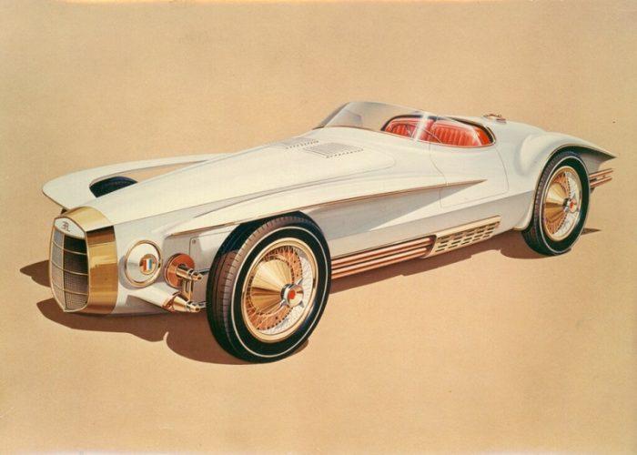 Эскиз Mercer-Cobra Roadster 1965