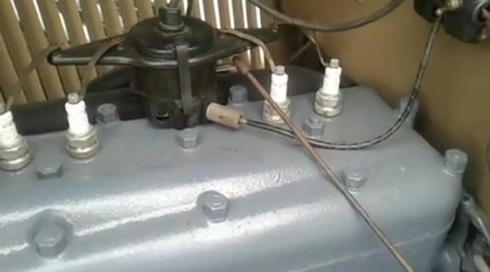 Двигатель ГАЗ-А