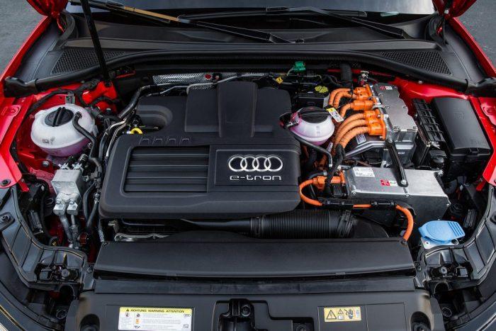 Двигатель Audi E-tron Sportback
