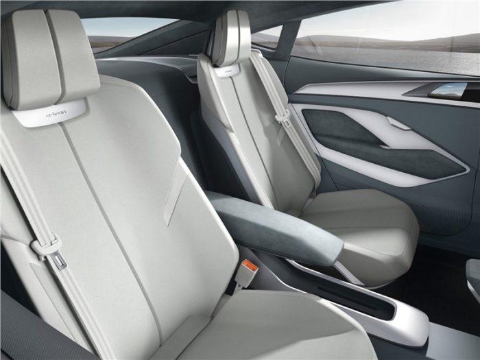 Задний ряд сидений Audi E-tron Sportback