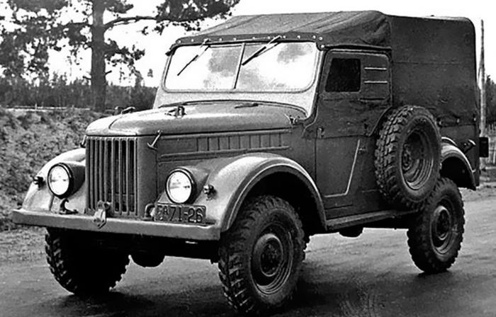 Двудверный ГАЗ-69