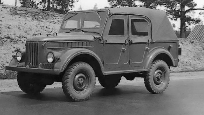 Пятидверный ГАЗ-69