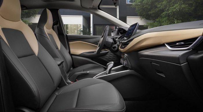 Салон Chevrolet Onix