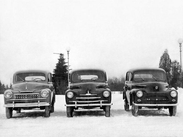 Варианты экстерьера автомобиля Москвич-400–424