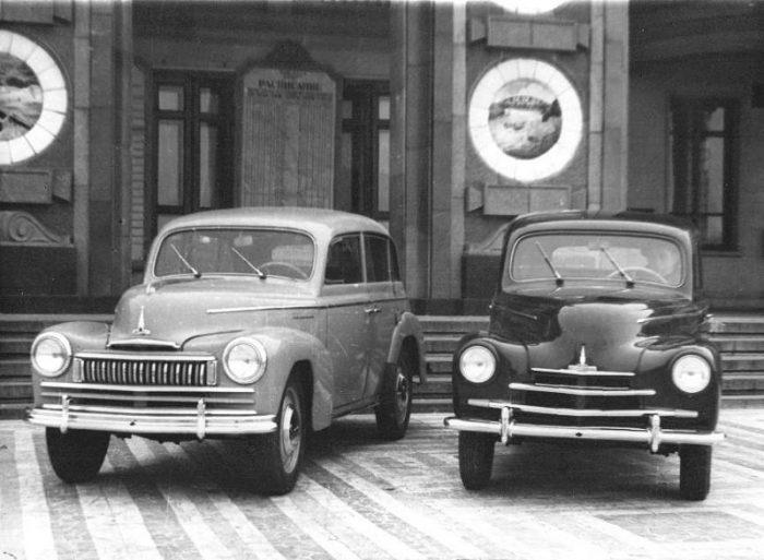 Москвич-400 и Москвич-400–424 образец 1