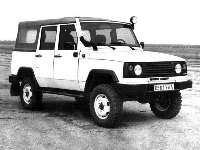 Опытный образец УАЗ-3172
