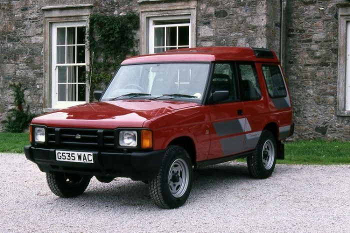 Land Rover Discovery 1989