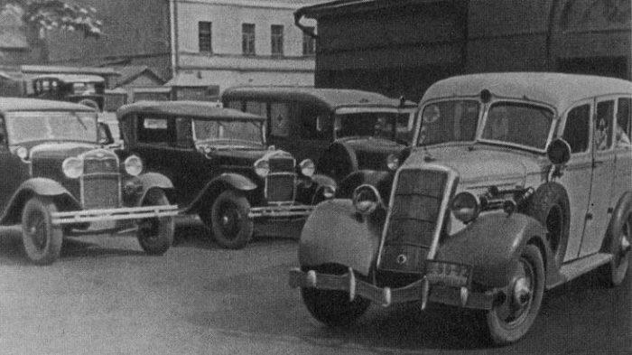 Московская скорая 1936 года