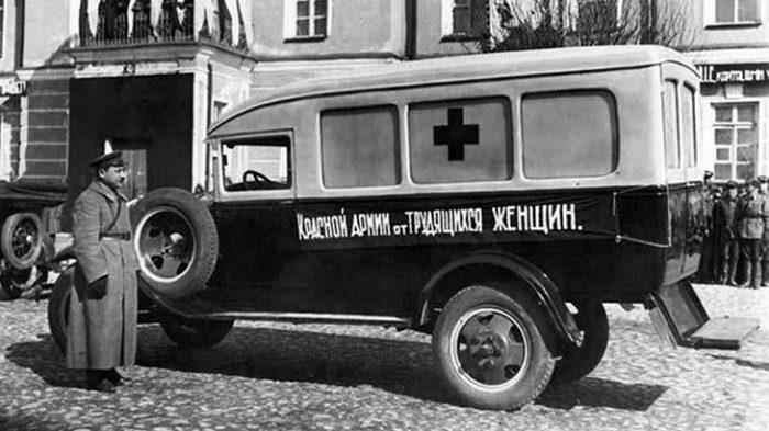 Автомобиль СП-32