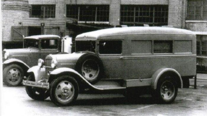 Довоенный ГАЗ-55