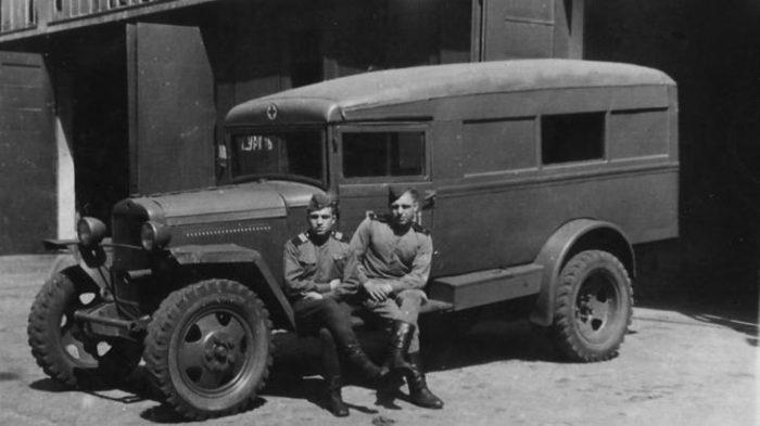 Военный ГАЗ-55
