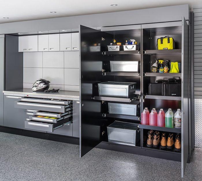 Шкаф для химии в гараже